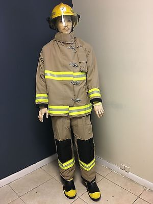 Firefighter Turnout gear bunker set Coat and Pants size XL, Large, Medium, Small