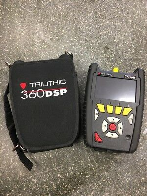 Trilithic 360DSP Signal Level Meter with case