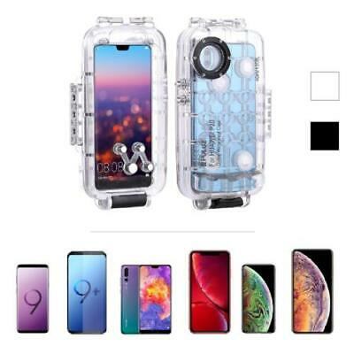 Underwater Waterproof Diving Housing Cover Cases for Mobile Phones 40m Travel