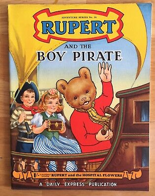 RUPERT Adventure Series No 16 Rupert & The Boy Pirate April 1953 Very FINE