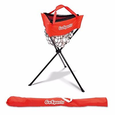 GoSports Portable Baseball & Softball Ball Caddy with Carry Bag