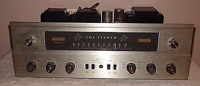 Vintage Fisher 500C FM Stereo Receiver Needs Tubes For Parts or Repair