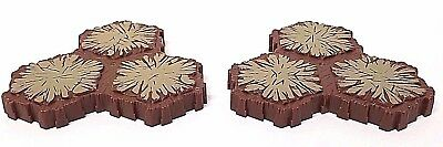 Heroscape 3-Hex Tan Brown Replacement Sand Terrain Tiles - Lot of 2 Pieces