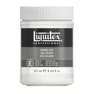 Liquitex Professional String Gel Texture Effect Acrylic Painting Medium 237ml