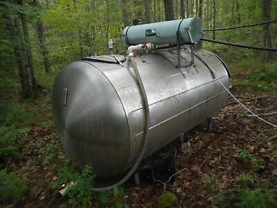 Stainless Steel Tank 1000 Gallons