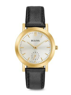 97L159 Bulova Women's Quartz Stainless Steel and Leather Casual Watch