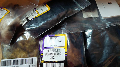 Beaver Skin pieces, assorted types and sizes, dyed and natural