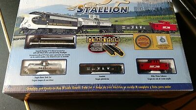 THE STALLION Complete Freight Train Set Bachmann New in Box