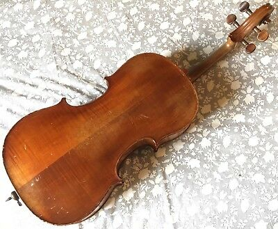 Rare Violoncelle D'étude Petit 1/8 Mirecourt Att. À Laberte Ca 1920 French Cello