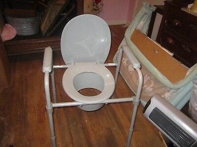new heavy duty medical potty chair