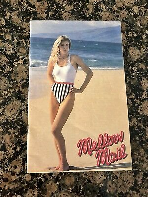 Mellow Mail Lingerie Swim Suit Catalog Sexy Intimates '80s  LIKE NEW!
