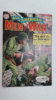ALL-AMERICAN MEN OF WAR #78 APR 1960 DC Comics