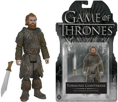 Game Of Thrones - Tormund Giantsbane - Funko Pop! Television (2016, Toy NUEVO)