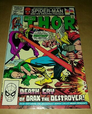 """""""The Mighty Thor"""" issue 314 December 1981"""