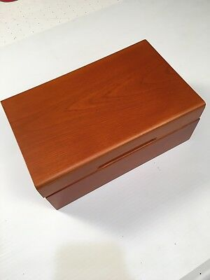 Guardhouse Wood Slab Display Box - Holds 30 Certified Coins PCGS NGC Cherry tone
