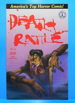 DEATH RATTLE Volume 2 #14 of 18 1985/1988 Kitchen Sink Comix Uncertified