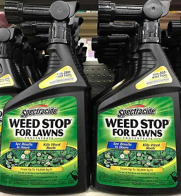 Spectracide Weed Stop for Lawns Concentrate Hose-End Spray - 64-ounces Worldwide