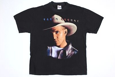 Garth Brooks Fresh Horses Tour Vintage 1996 Concert T-Shirt Adult L (42-44)