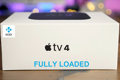 Brand New Apple TV 4 32GB 2018 Model - With Kodi and Popcorn Time Installed