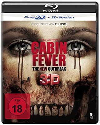 Cabin Fever - The New Outbreak [3D Blu-ray + 2D Version]