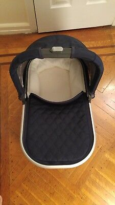 UPPAbaby Universal Bassinet for Vista & Cruz Strollers 2015 Navy Blue (Indigo)