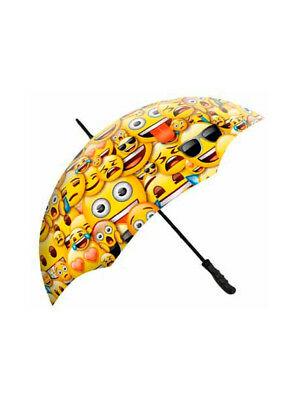 Emoji Single Canopy Umbrella
