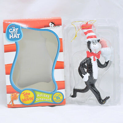The Cat In The Hat Kurt S. Adler Christmas Ornament - In Box!