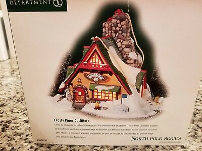 Dept. 56 North Pole Frosty Pines Outfitters #56752 LNIB!