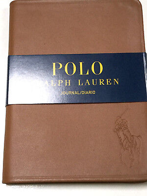 Polo Ralph Lauren Hardcover Leather Big Pony Notebook Journal Diary