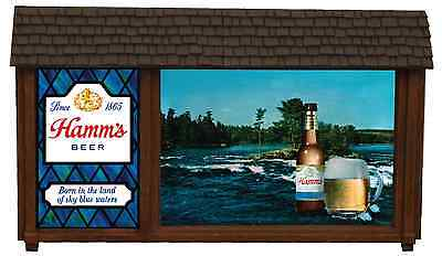 Hamm's Beer Non-Motion Sign  - New Replacement Scene