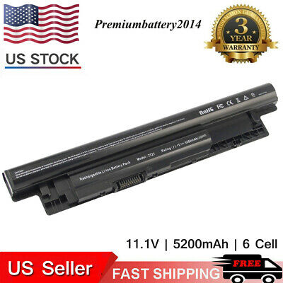 6 Cell Laptop Battery for Dell Inspiron 3521 5521 5421 3721 MR90Y TYPE XCMRD US