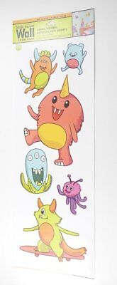 Main Street Wall Creations Friendly Monster Jumbo Wall Stickers Part 79
