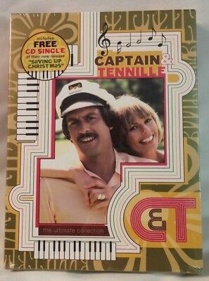 Captain & Tennille - Ultimate Collection (DVD, 2005, 3-Disc Set)