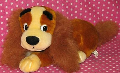 Disney Lady and the Tramp Vintage Plush Lady Plush Toy Next Day USA Shipping