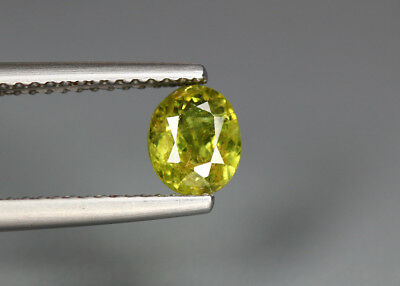 0.94 Cts_Electric Fire Rare Gemstone_100 % Natural Demantoid Garnet_Namibia