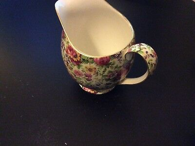 Royal Winton summertime Chintz Grimwades jug or pitcher genuine incredible price