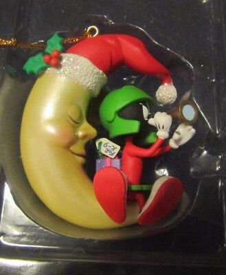 New Looney Tunes Marvin the Martian Collectible Ornament The man in the moon.