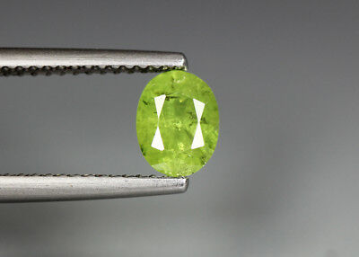 0.98 Cts_Electric Fire Rare Gemstone_100 % Natural Demantoid Garnet_Namibia