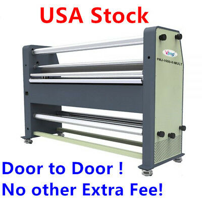 "US Stock! 110V 63"" High End Full - auto Wide Format Hot Laminator"