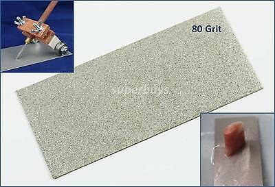 80Grit Diamond Plate Stone Knife Blade Sharpening Tool Whetstone Sharpen Filing