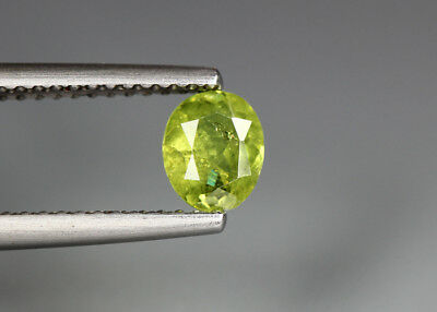0.65 Cts_Electric Fire Rare Gemstone_100 % Natural Demantoid Garnet_Namibia