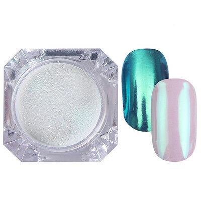 Born Pretty Mirror Effect Glitter Powder Chrome Nail Art Pigment Dust