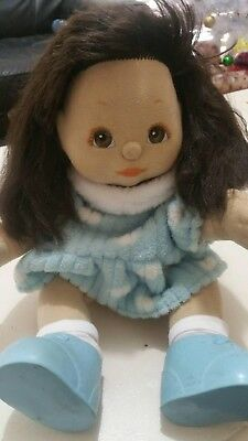 Vintage My Child Doll. Brown Hair, Brown Eyes. Mattel, 1980s, Baby