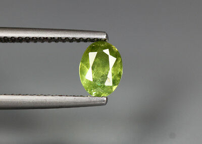 0.71 Cts_Electric Fire Rare Gemstone_100 % Natural Demantoid Garnet_Namibia