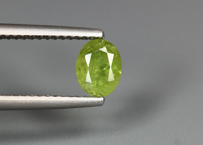 0.90 Cts_Electric Fire Rare Gemstone_100 % Natural Demantoid Garnet_Namibia