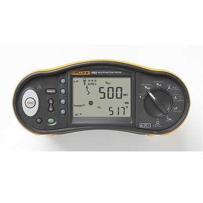 NEW Fluke 1662  Multifunction Tester - UK Supplied with Calibration Certificate