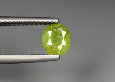 0.91 Cts_Electric Fire Rare Gemstone_100 % Natural Demantoid Garnet_Namibia