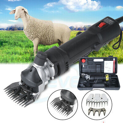 320W Electric Shearing Clipper Shears Set Sheep Goat Alpaca Trimmer Farm UK Plug