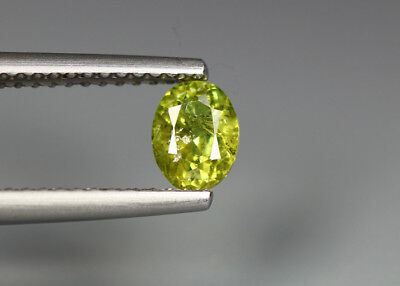 0.58 Cts_Electric Fire Rare Gemstone_100 % Natural Demantoid Garnet_Namibia