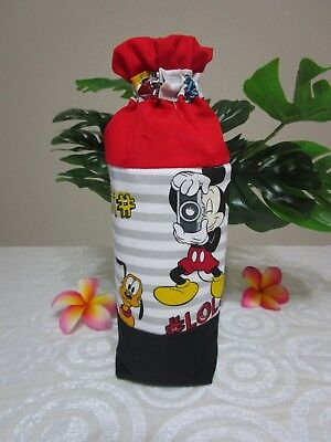 Insulated baby bottle holder-Mickey & friends-Fits all baby bottle sizes.